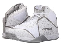 And 1 Havok Bright White Bright White Silver Men's Basketball Shoes