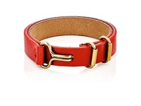 Giles And Brother Men's Leather Layered Bracelet