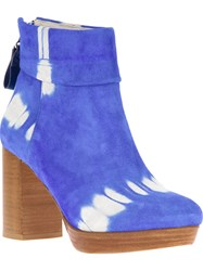 B Store 'New Venessa' Boot Blue