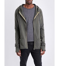 Deadwood Cotton Hoody Military