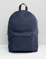 New Look Backpack In Navy Navy