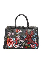 Alice Olivia Bird Party Eloise Bowler Bag Black