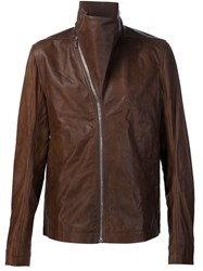 Rick Owens 'Mountain' Jacket Brown