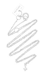 Vanrycke M'o Exclusive 18K White Gold Diamond Choker Silver