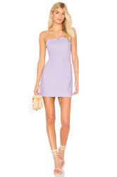 Clayton Carol Dress Purple