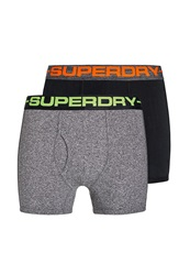 Superdry Sport Plain Boxer Black