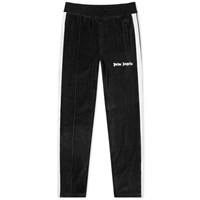 Palm Angels Chenille Track Pant Black