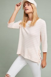 Sunday In Brooklyn Carpinteria Ruffled Top Pink