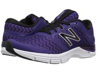 New Balance Wx711v2 Black Plum Zigzag Violet Glo Graphic Women's Cross Training Shoes Blue