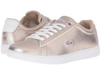 Lacoste Carnaby Evo 316 2 Grey Women's Shoes Gray