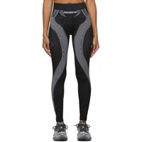 Misbhv Black And White Active Future Leggings
