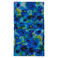 Hobbs Ink Floral Scarf Multi Blue