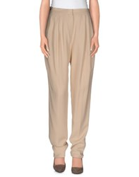 Burberry Prorsum Trousers Casual Trousers Women Beige