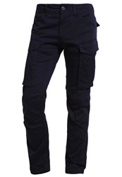 G Star Gstar Rovic Slim Cargo Trousers Mazarine Blue Dark Blue