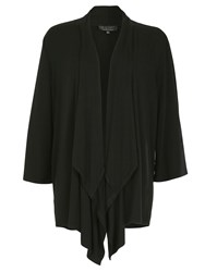 Pussycat Wide Sleeve Waterfall Cardigan Black