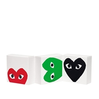 Comme Des Garcons Play Limited Edition Eau De Toilette Set 3 X 100Ml