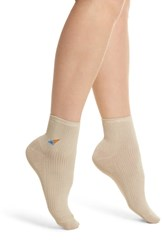Richer Poorer Coney Ankle Socks Oatmeal