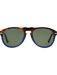 Persol 'Po0649' Sunglasses Blue