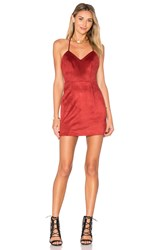 Lovers Friends X Revolve Fly Dress Red
