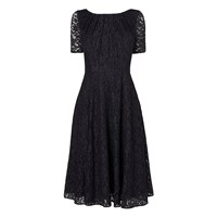 Lk Bennett Celine Lace Dress Blue