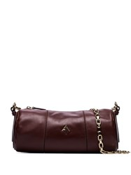 Manu Atelier Cylinder Shoulder Bag Brown