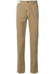 Incotex Slim Fit Trousers Nude And Neutrals
