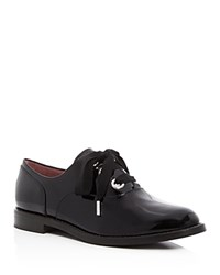 Marc Jacobs Helena Lace Up Oxfords Black