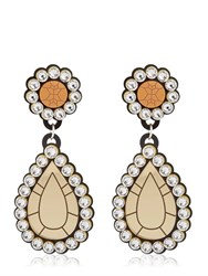 Yazbukey Gold Diamonds Drop Earrings