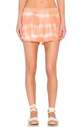 Bishop Young Tie Dye Short Coral