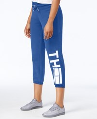 Tommy Hilfiger Logo Sweatpants Only At Macy's Electric Blue