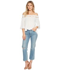 Bishop Young Olivia Off Shoulder Top White Clothing