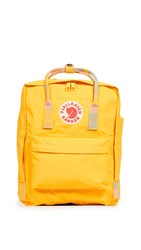 Fjall Raven Fjallraven Kanken Backpack Warm Yellow Random Blocked