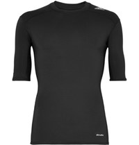Adidas Sport Techfit Base Climalite Compression T Shirt Black
