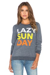 Chaser Lazy Sunday Sweatshirt Blue