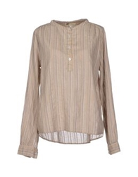 Local Apparel Blouses Beige