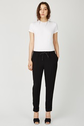 Alexander Wang Cropped Drawstring Cuffed Hem Pants Nocturnal
