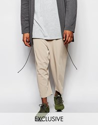 Reclaimed Vintage Relaxed Trousers Stone