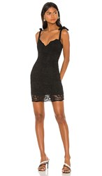 Nookie Romance Mini Dress In Black.