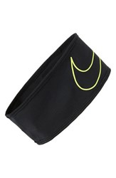 Nike Running Headband Black Black Volt