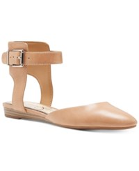 Jessica Simpson Loranda Two Piece Flats Women's Shoes Buff