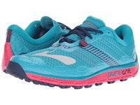 Brooks Puregrit 5 Peacock Blue Virtual Pink Patriot Blue Women's Running Shoes