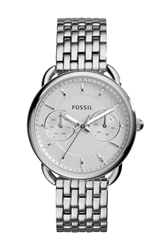 Fossil 'Tailor' Multifunction Bracelet Watch Silver