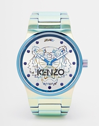 Kenzo Tiger Gold Stainless Steel Watch