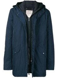 Zadig And Voltaire Padded Waistcoat Blue