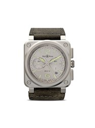Bell And Ross Br 03 94 Horolum 42Mm Grey And Green