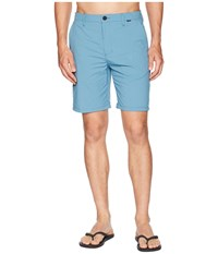 Hurley Dri Fit Chino Walkshort Noise Aqua Shorts Blue