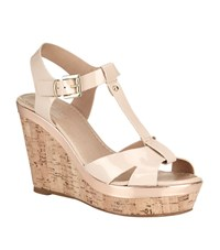 Carvela Kurt Geiger Kabby Wedge Sandal Female Nude