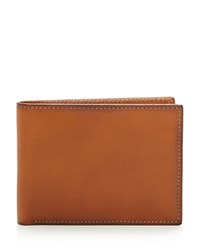 Bloomingdale's The Men's Store At Rfid Smooth Slimfold Wallet Tan