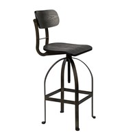 Pols Potten Bar Chair Bukovski Black