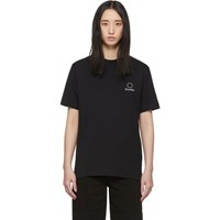 Etudes Studio Black Wonder Logo T Shirt